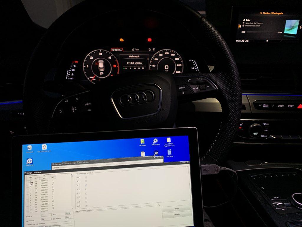 VCDS am Audi Q7
